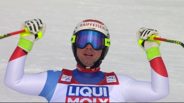 Are (SUE), descente messieurs: Beat Feuz (SUI) [RTS]