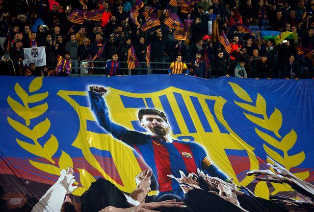 Lionel Messi a été le grand artisan de la victoire barcelonaise en marquant deux buts et faisant un assist. [Manu Fernandez - Keystone]