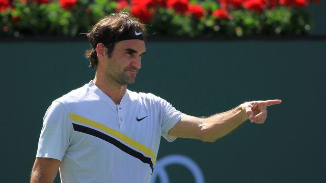 Federer a su serrer son jeu dans les moments-clés. [Crystal Chatham - Keystone]