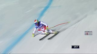 Are (SWE), Super-G messieurs: Beat Feuz (SUI) [RTS]