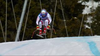 Are (SWE), Super-G messieurs: Mauro Caviezel (SUI) [RTS]