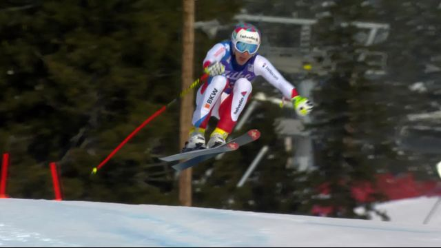 Are (SWE), Super-G messieurs: Marco Odermatt (SUI) [RTS]