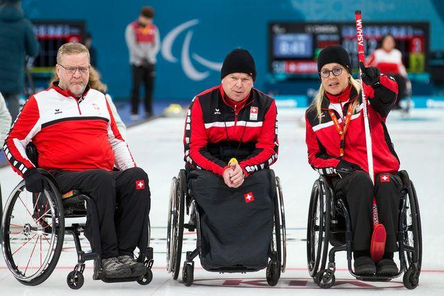 L'équipe de Suisse mixte a manqué son objectif des demi-finales. [Alexandra Wey - Keystone]