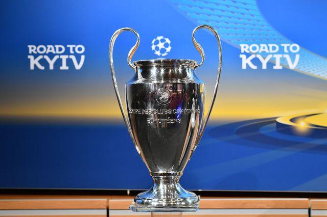 La finale de la Ligue des champions aura lieu le 26 mai à Kiev. [Fabrice Coffrini - AFP]