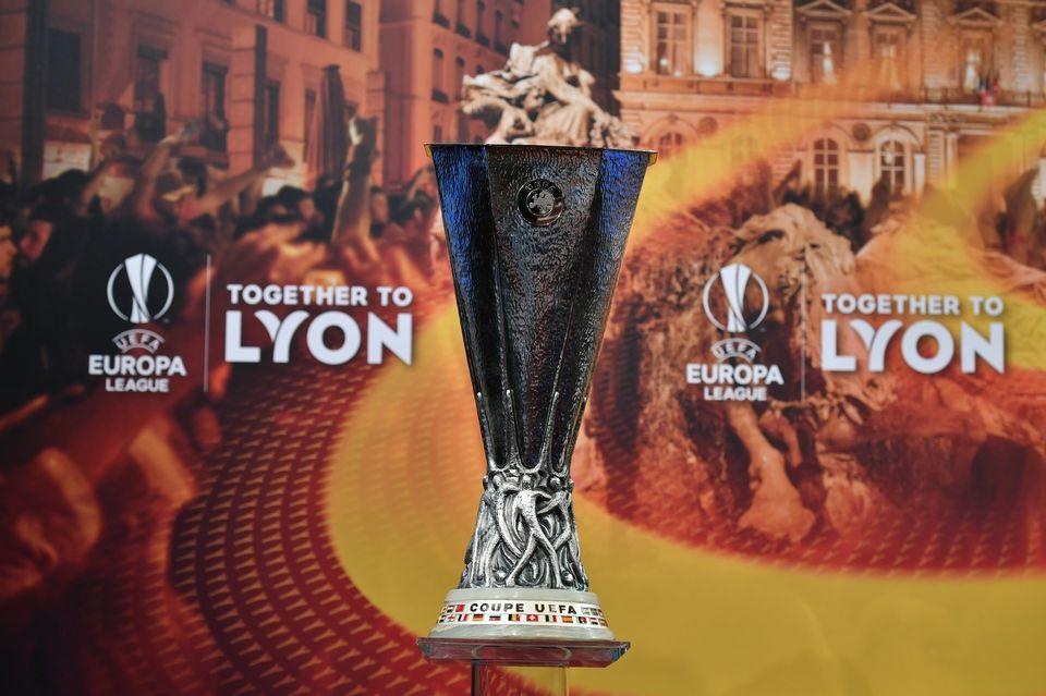La finale de l'Europa League se déroulera le 16 mai à Lyon. [Fabrice Coffrini - AFP]