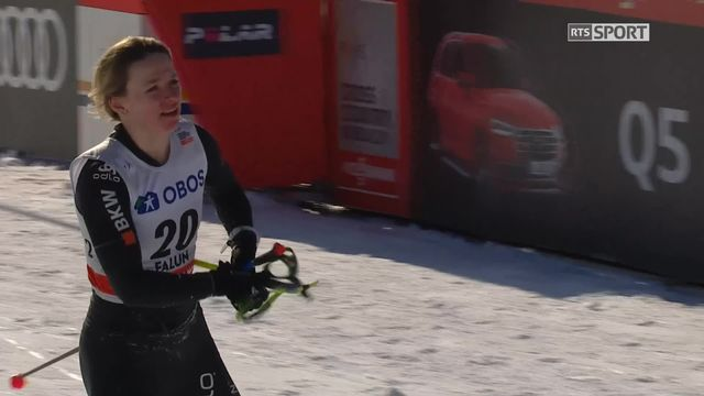 Falun (SUE), sprint dames: Nadine Fähndrich et Laurien Van der Graaf éliminées en 1-4 [RTS]