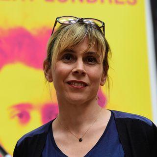 Les journalistes françaises Cécile Allegra et Delphine Deloget. [Emmanuel Dunand - AFP]