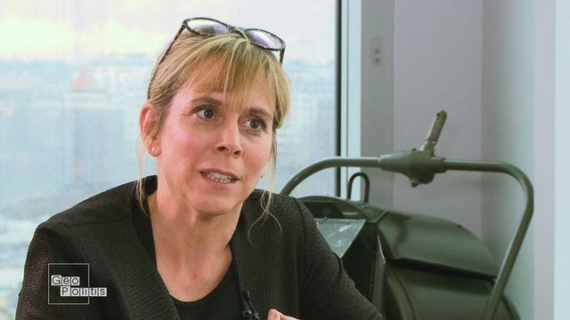 """Cécile Allegra: """"La vengeance par le viol"""" [RTS]"""