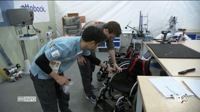 Paralympiques: un atelier dédié au matériel orthopédique [RTS]