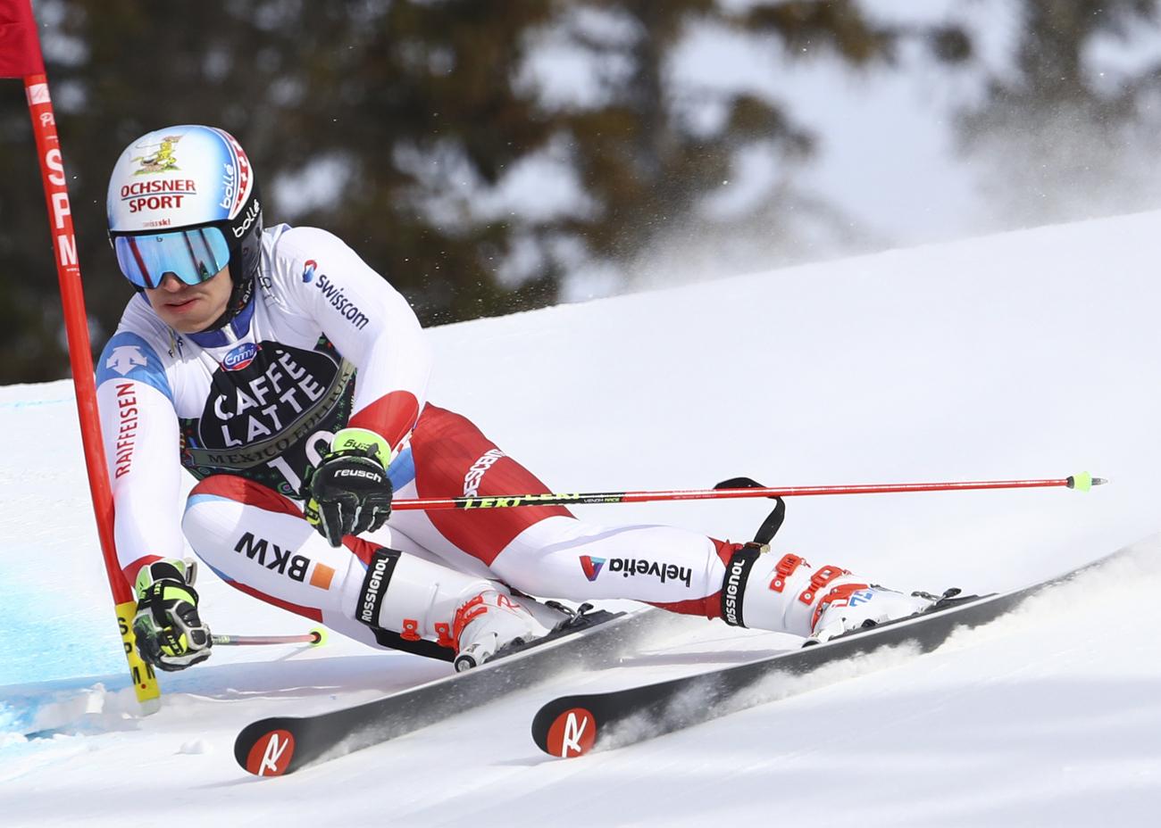 Muffat-Jeandet sur le podium à Äre — Slalom géant