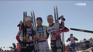 Falun (SWE), mass-start dames 10 km: victoire de Parmakoski (FIN) [RTS]