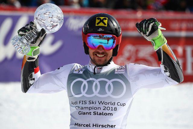Hirscher a signé le 58e succès de sa carrière en Coupe du monde. [Marco Trovati - Keystone]