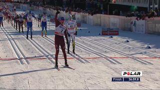 Falun (SWE), mass-start messieurs 15 km: Alexander Bolshunov s'impose, Cologna 6e [RTS]