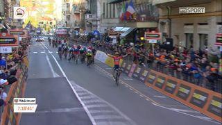 "Milan-San Remo (ITA): Vincenzo Nibali (ITA) remporte ""la Primavera"" pour la première fois [RTS]"