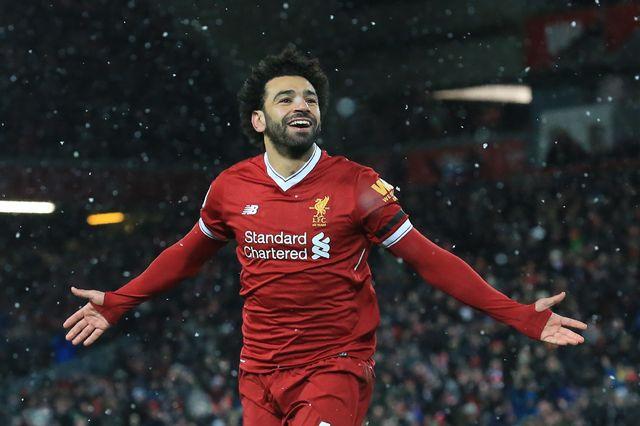 Salah a réussi une nouvelle performance de choix avec les Reds. [Lindsey Parnaby - AFP]
