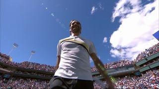 Indian-Wells (USA), ½ finale, Federer (SUI) – Coric (CRO) 5-7 6-4 6-4: Federer s'impose et se qualifie pour la finale [RTS]