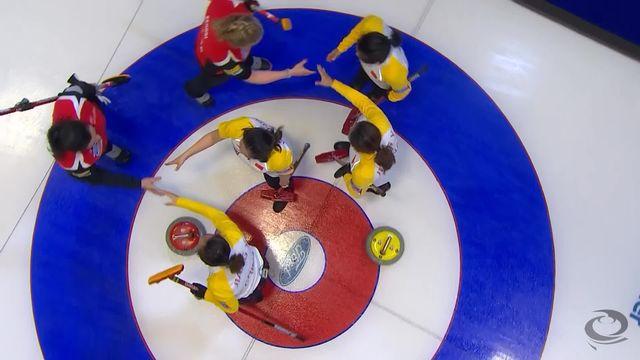 North Bay (CAN), dames SUI-CHN (5-6): défaite des Suissesses contre la Chine [RTS]