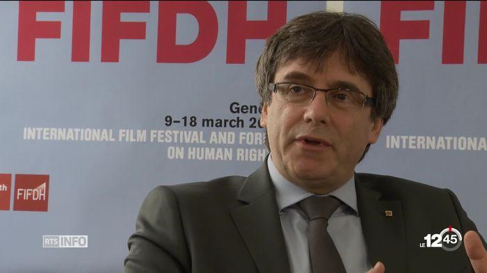 GE: Carles Puigdemont répond à l'invitation du FIFDH