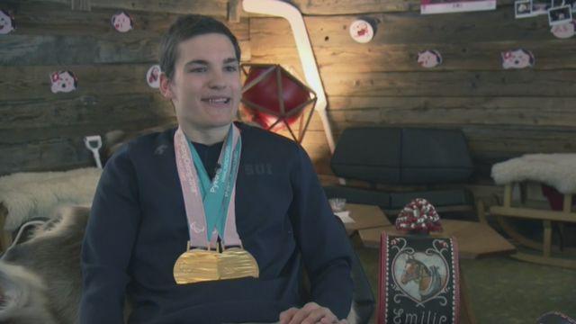 Le Valaisan Théo Gmür, triplé champion paralympique à PyeongChang, se confie [RTS]