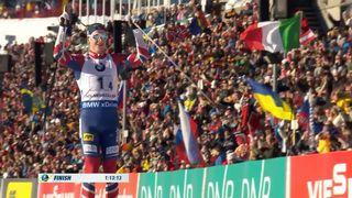 Biathlon, relais messieurs: La Norvège s'impose devant l'Autriche et la Russie [RTS]