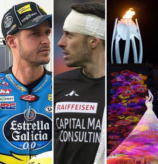 La sélection du dimanche 18 mars: Thomas Lüthi, Kevin Fickentscher et la clôture des Paralympiques. [G.Kefalas/N.Thekkail/J.Marklund - Keystone]