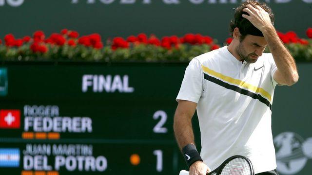 Federer a lâché prise dans l'ultime tie-break. [John G. Mabanglo - Keystone]