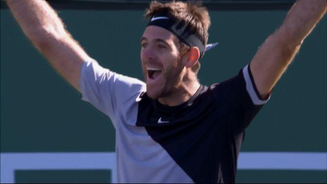 Indian-Wells (USA), finale, Federer (SUI) – Del Potro (ARG) 4-6 7-6 6-7: Del Potro remporte le tournoi face à Federer! [RTS]