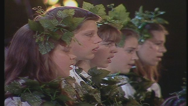 Concert en 1991 à Lausanne en hommage à la Fête des vignerons [RTS]