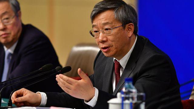 Ex-numéro 2 de l'institution, Yi Gang a été élu à la tête de la Banque centrale de Chine. [Zhu xijia - AFP]