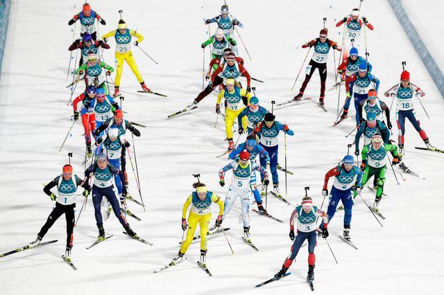 Biathlon, coupe du monde, massstart dames, Tyumen (RUS) [Andrew Medichini - Keystone]