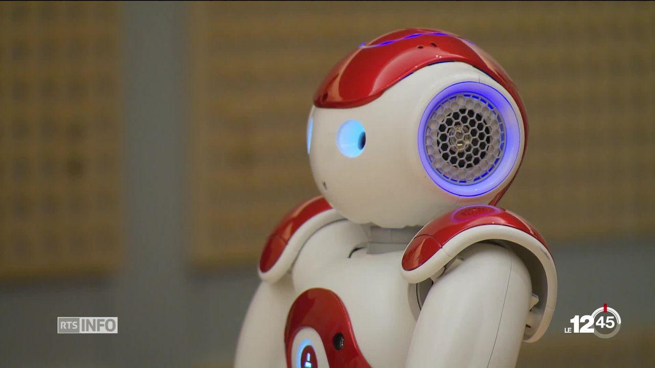 VD: le Centre cantonal Autisme du CHUV travaillera avec un robot humanoïde [RTS]