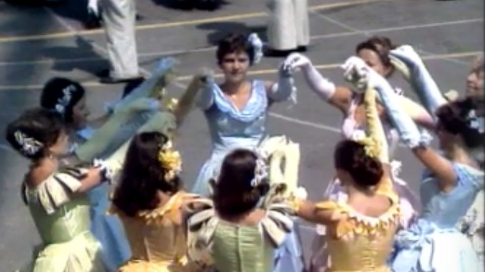 La danse du printemps (spectacle de la Fête des vignerons de 1977) [RTS]