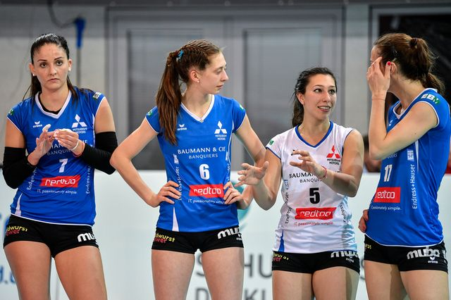 Volleyball, coupe de Suisse, finale dames [Peter Schneider - Keystone]