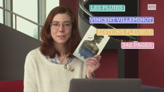 """Prix RTS Littérature Ados 2018 . Timaël défend """"Les pluies"""", de Vincent Villeminot [RTS]"""