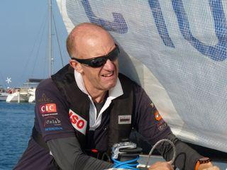 La navigateur Jacques Valente. [Jacques Valente - nephrohug.ch]