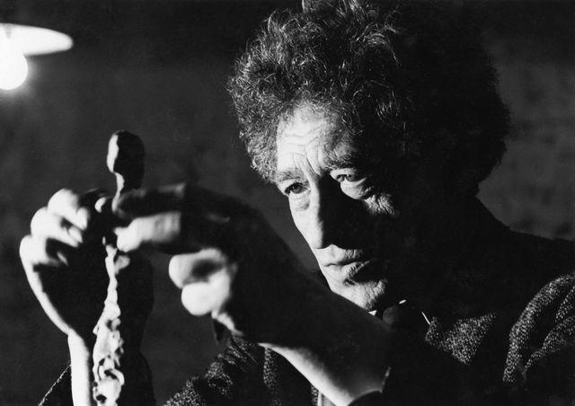 Le sculpteur Alberto Giacometti (1901-1966). [Jean-Régis Roustan  - Roger-Viollet/AFP]