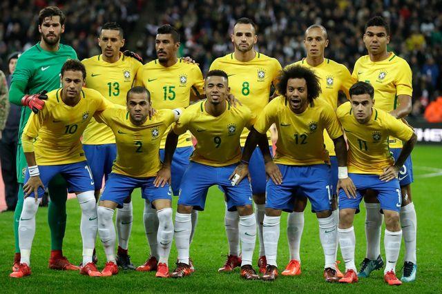 Le Brésil effectuera sa préparation à Londres, où il avait affronté l'Angleterre le 14 novembre dernier. [Matt Dunham - Keystone]