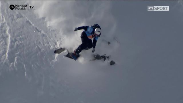 Ski hommes - Anthony Camoglu (SUI) [RTS]