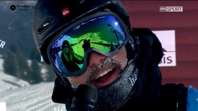 Ski hommes - Julien Pichel (SUI) [RTS]