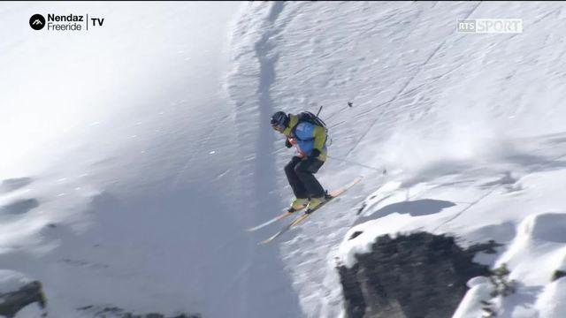 Ski hommes - Adrien Hildebrandt (SUI) [RTS]