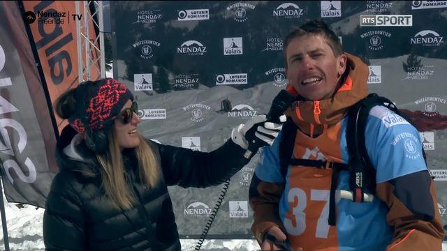 Ski hommes - Mickael Bimboes (FRA) [RTS]