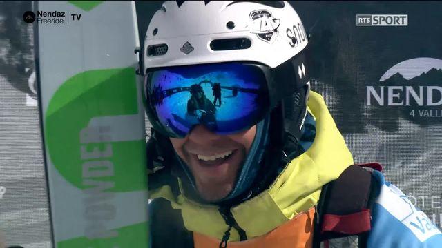 Ski hommes - Loïc Burri [RTS]
