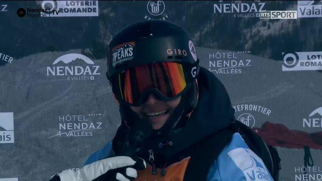 Ski dames - Eva Battolla (SUI) [RTS]