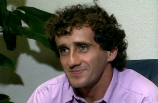 Alain Prost chez Ferrari
