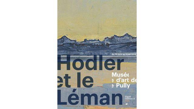 """Affiche """"Hodler et le Léman"""" au Musée d'art de Pully. [Musée d'art de Pully]"""