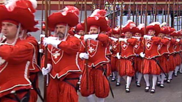 Les Cent-Suisses en 1999 [RTS]