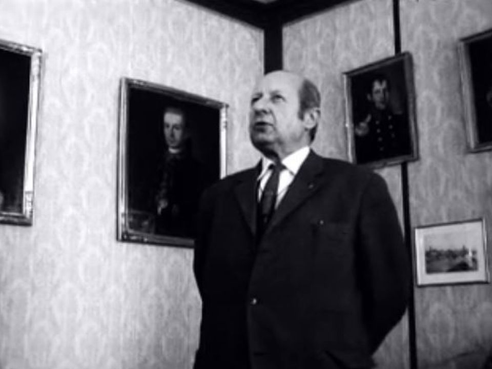 Monsieur Dubois, un patron d'horlogerie à l'ancienne. [RTS]