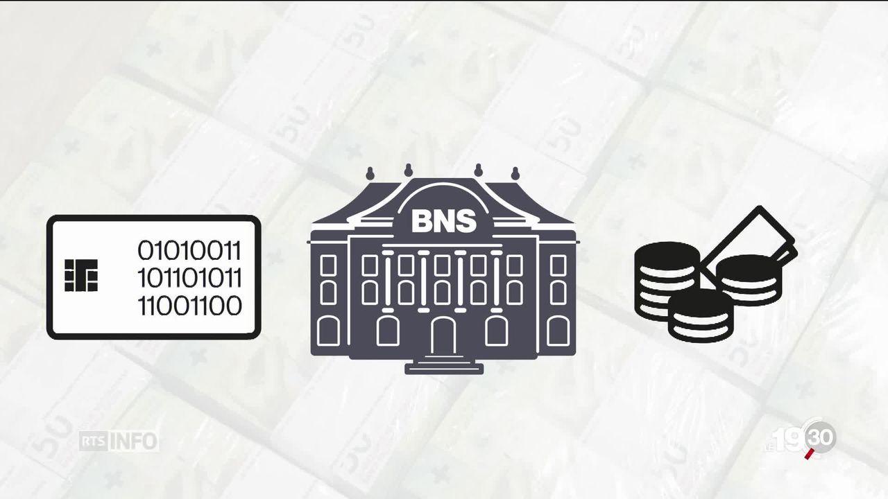 """Initiative """"monnaie pleine"""": tous pouvoirs à la BNS [RTS]"""