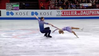 Patinage artistique, libres couples: Aljona Savchenko et Bruno Massot (GER) sont champions du monde [RTS]