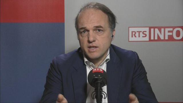 L'invité de Romain Clivaz (vidéo) - Yves Bertoncini, président du Mouvement européen en France [RTS]